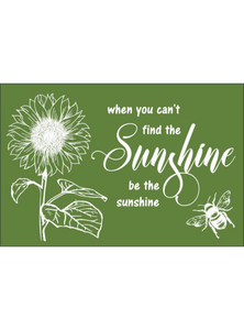 "Find the Sunshine Silkscreen Stencil - 12"" x 18"" - 44 Marketplace"