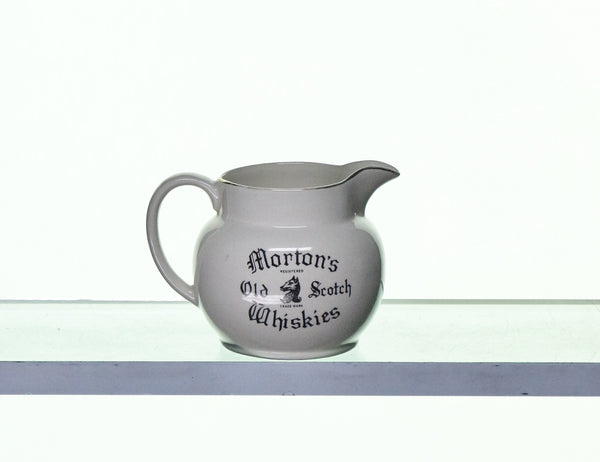 Morton's Old Scotch Whiskies Water Jug