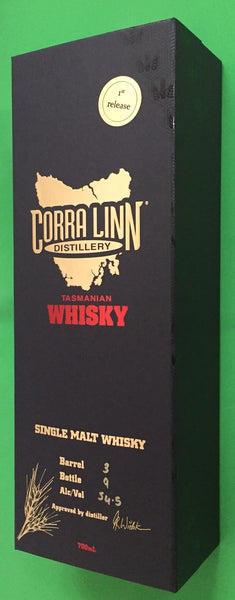 Corra Linn First Release Single Malt Whisky - Historic