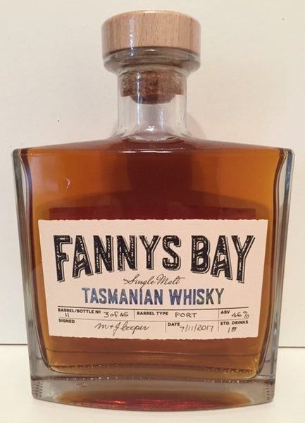 Fannys Bay Port Barrel No 11 Single Malt Whisky - Historic