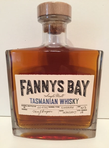 Fannys Bay Sherry Barrel No 6 Single Malt Whisky - Historic