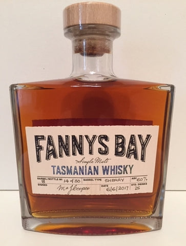 Fannys Bay Sherry Barrel No 8 Single Malt Whisky - Historic