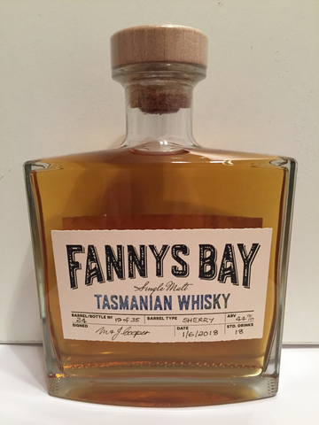 Fannys Bay Sherry Barrel No 24 Single Malt Whisky - Historic