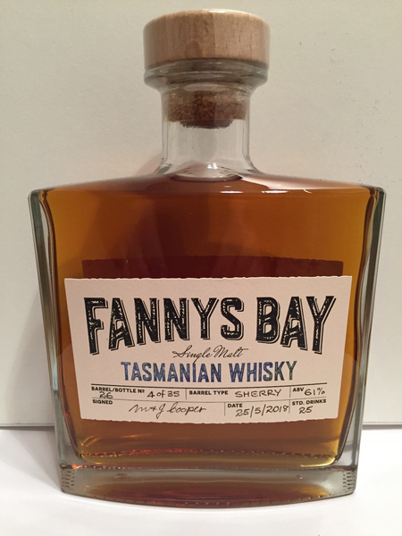 Fannys Bay Sherry Barrel No 26 Cask Strength Single Malt Whisky - Historic
