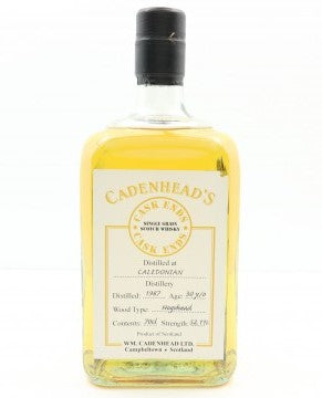 Caledonian 1987 30 Year Old Single Grain Whisky by Cadenhead's