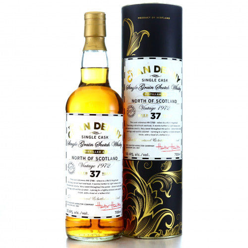 North of Scotland 1972 37 Years Old Single Grain Whisky by Clan Denny