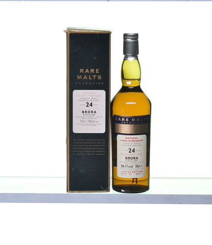 Brora 1977 24 Years Old Rare Malt