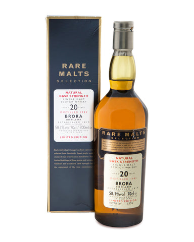 Brora 1982 20 Years Old Rare Malt