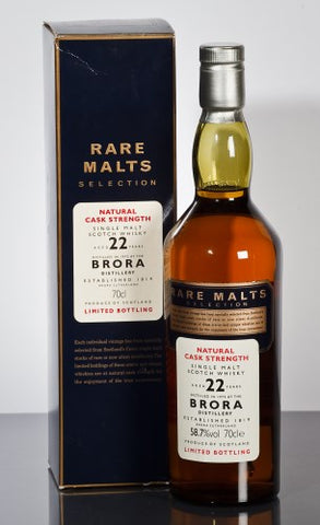 Brora 1972 22 Years Old Rare Malt