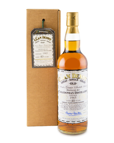 Caledonian 1965 40 Years Old Cask No HH 2244 by Clan Denny