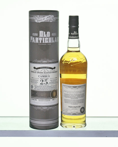 Cambus 1991 25 Years Old Single Grain Whisky by Old Particular