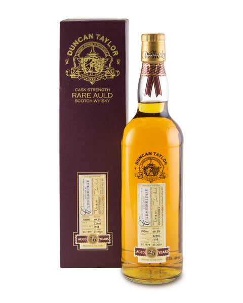 Carsebridge 1979 26 Years Old Cask No 32903 by Duncan Taylor