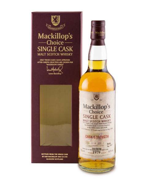 Coleburn 1979 29 Years Old McKillop's Choice