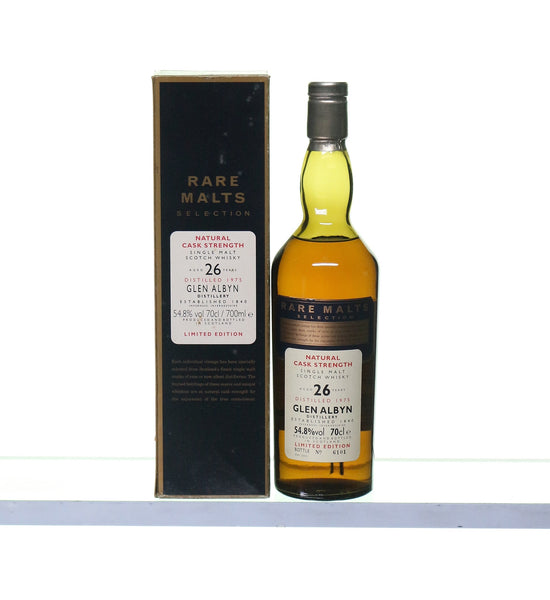 Glen Albyn 1975 26 Years Old Rare Malts