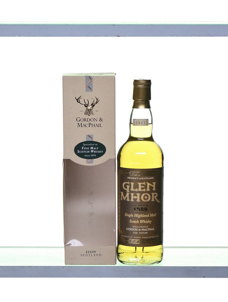 Glen Mhor 1980 Single Highland Malt by Gordon and MacPhail