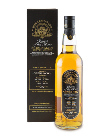 Glenlochy 1980 26 Years Old Cask No 2452 Bottle No 226/294