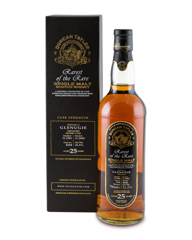 Glenugie 1981 25 Years Old Cask No 5158 Single Highland Malt Rarest of the Rare by Duncan Taylor