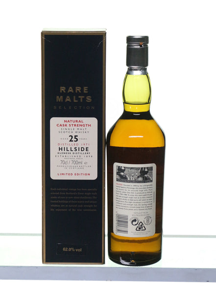 Hillside 1971 25 Years Old Single Highland Malt by Rare Malts