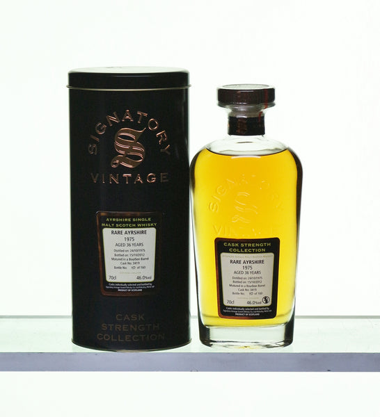 Ladyburn Rare Ayrshire 1975 36 Years Old cask 3419
