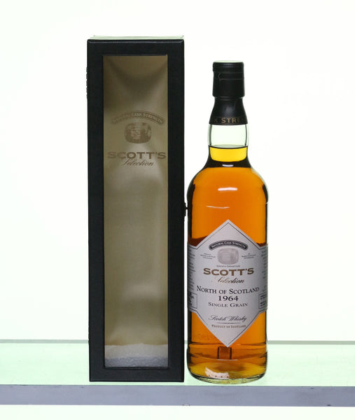 North of Scotland 1964-2007 Single Grain Whisky by Scott's Selection