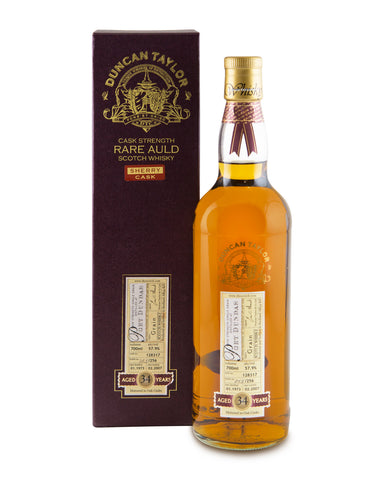 Port Dundas 1973 34 Years Old Cask No 128317 Single Grain Whisky by Duncan Taylor