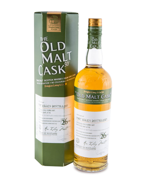 Port Ellen 1982 26 Year Old Cask DL4447 by Douglas Laing