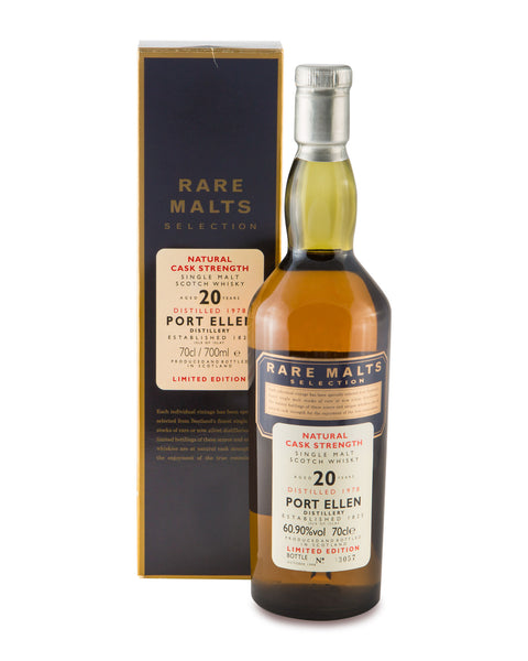 Port Ellen 1978 Rare Malts 20 Years Old Islay Single Malt