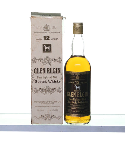 Glen Elgin by White Horse 26 2/3 oz 1970s