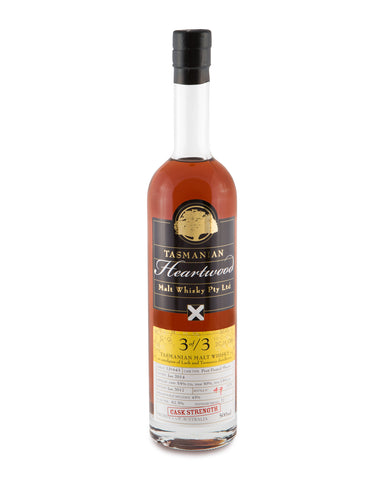 Heartwood 3 of /3 Cask Strength Tasmanian Vatted Malt Whisky - Historic