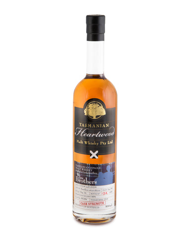 Heartwood We Are Brothers ex-Lark Cask Strength Tasmanian Single Malt Whisky - Historic