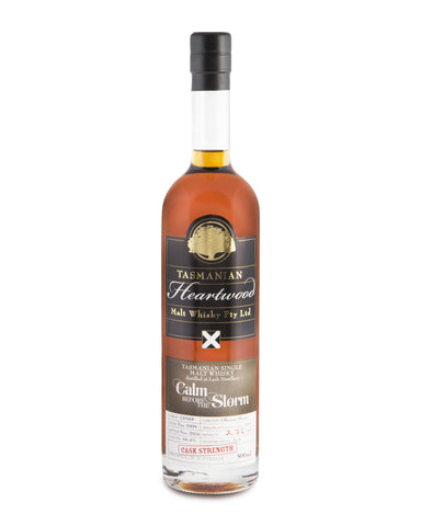 Heartwood Calm Before The Storm ex-Lark Cask Strength Tasmanian Single Malt Whisky - Historic