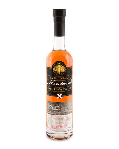 Heartwood Epiphany at the Lakes ex-Lark Cask Strength Tasmanian Malt Whisky - Historic