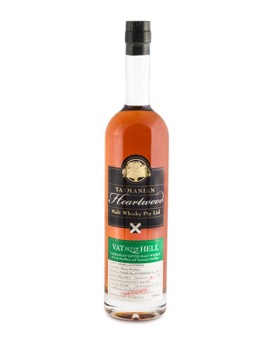 Heartwood Vat Out of Hell Cask Strength Tasmanian Single Malt Whisky - Historic