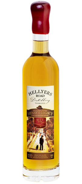 Hellyers Road Henry's Legacy Series Wey River Limited Edition Tasmanian Single Malt Whisky