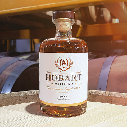 Hobart Tasmanian Single Malt Whisky - First Release - 18-001 - Historic