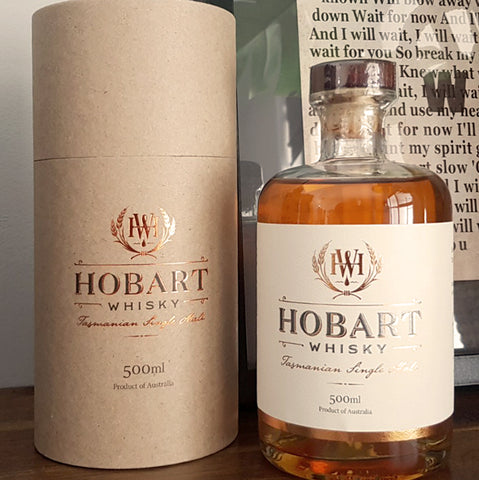 Hobart Tasmanian Single Malt Whisky - Third Release - 19-001 - Historic