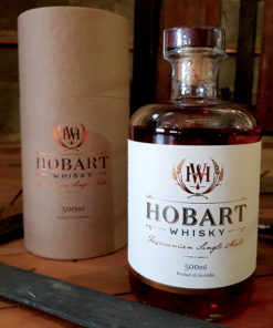 Hobart American Oak ex-Bourbon Finish Tasmanian Single Malt Whisky - Fifth Release - 19-003 - Current