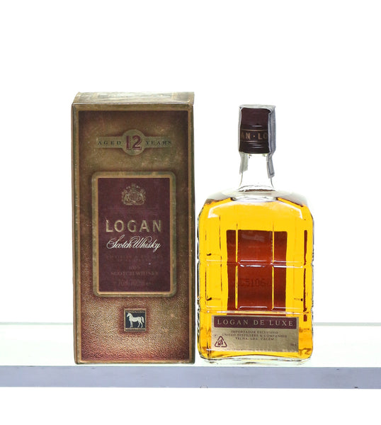 Logan De Luxe 12 Years Old 1980s Goan Import