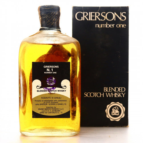 Grierson's No 1 Blended Scotch Whisky with Box