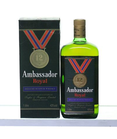 Ambassador Royal 12 Years Old 1980s 1 Litre