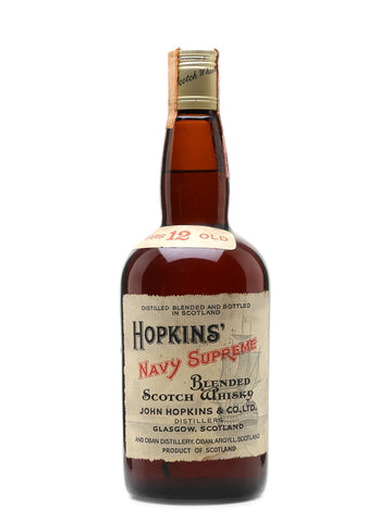 Hopkins' Navy Supreme 12 Years Old Blended Scotch Whisky