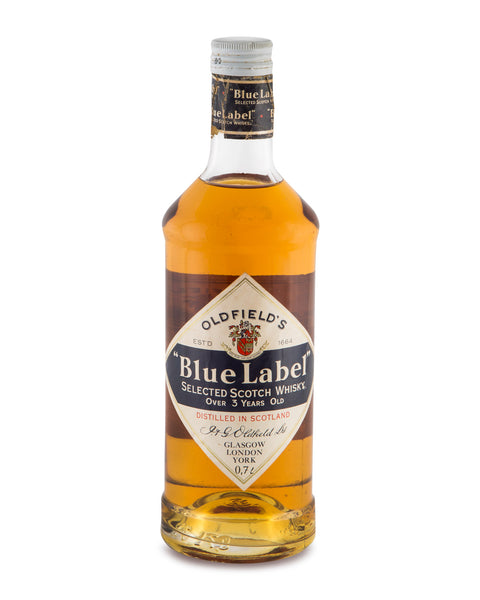 Oldfield's Blue Label Over 3 Years Old Selected Scotch Whisky