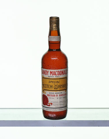 Sandy Macdonald Special Scotch Whisky 1950s