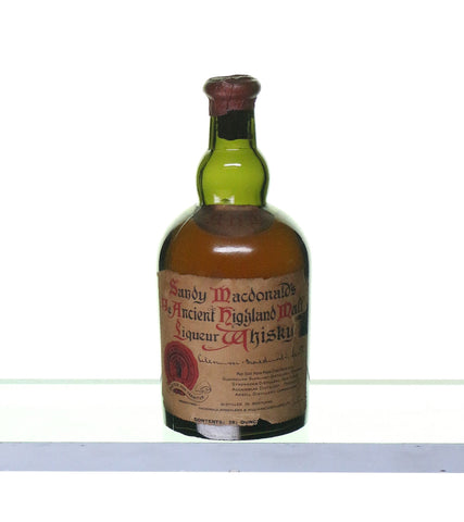 Sandy Macdonald's Ye Ancient Highland Malt Liquer Whisky