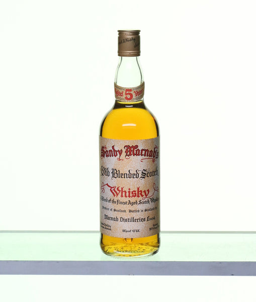 Sandy Macnab's 5 Years Old, Old Blended Scotch Whisky 1970s