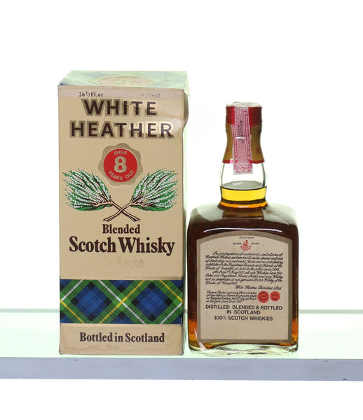 White Heather 8 Years Old 1970s