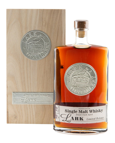 Lark Cask Strength Small Sherry Cask Aged Limited Release Tasmanian Single Malt Whisky - Historic