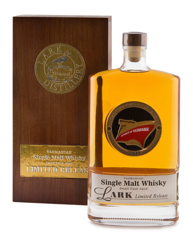 Lark Spirit of Tasmania Small Cask Aged Limited Release Single Malt Whisky No 1 of 33 - Historic