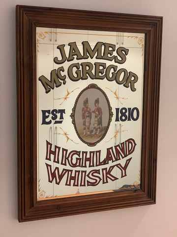James McGregor Bar Mirror