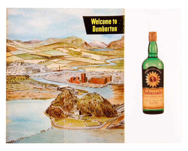 Ambassador Welcome to Dumbarton Distillery Leaflet